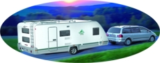 Rental of camping trailers, campers and boats